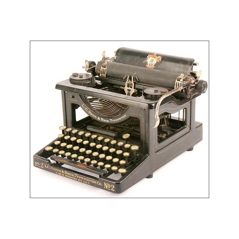 Maquina escribir L.C. Smith nº2. 1910