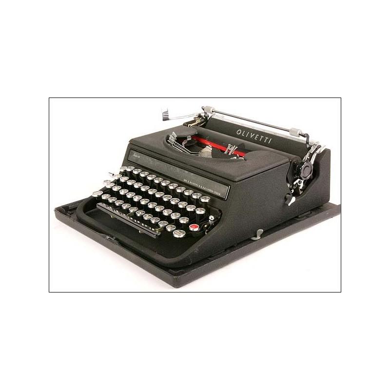 Máquina de escribi Olivetti Studio 42. 1938