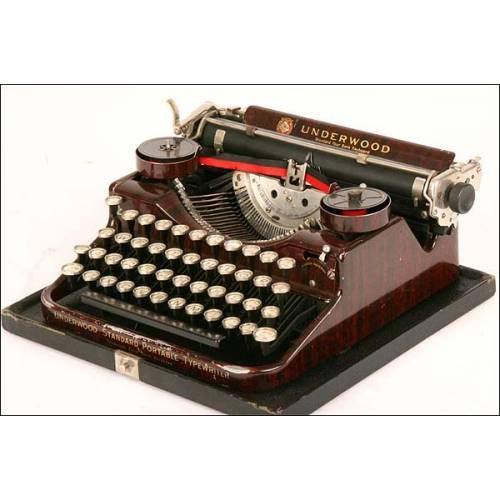 Máquina de escribir Underwood Standard Portable. 1929