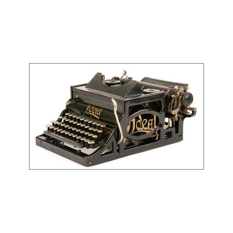 Máquina de escribir Ideal. 1900