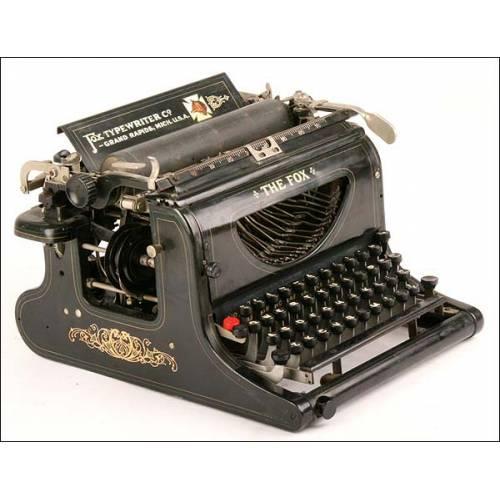 Máquina de escribir The Fox. 1906