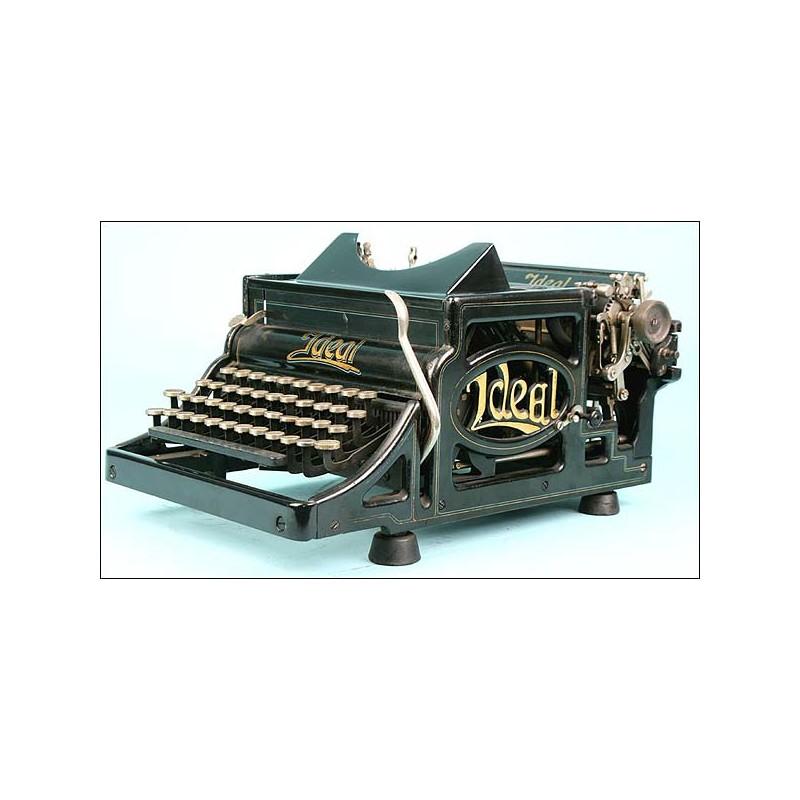 Máquina de escribir Ideal Mod. A Circa 1900
