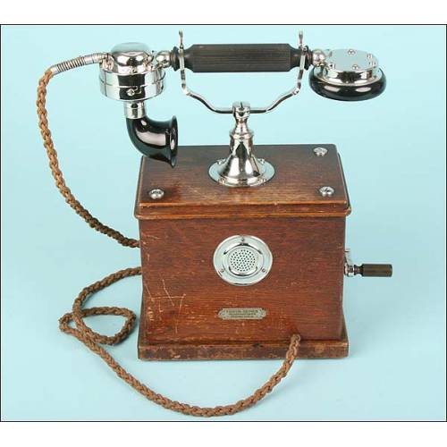 Teléfono Friedr Reiner RTV Mod.08, Circa.1910.