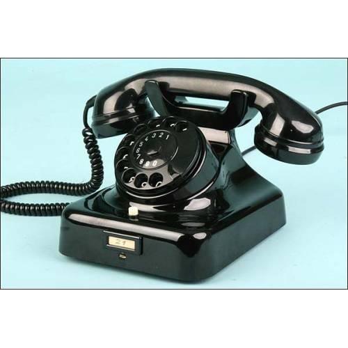 Excelente teléfono W49 de baquelita años 50. FUNCIONANDO