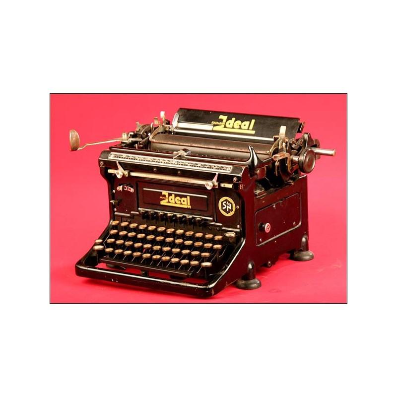 Máquina de escribir Ideal Estéticamente Perfecta. 1915