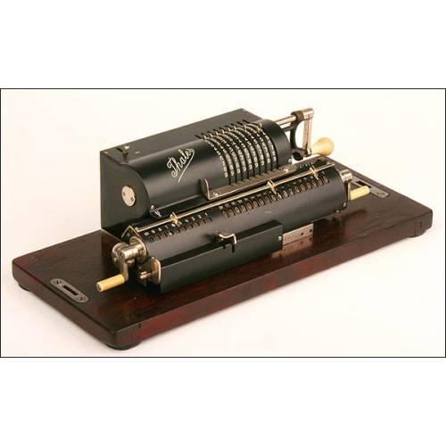 Calculadora Mecánica Thales, Alemana, 1910
