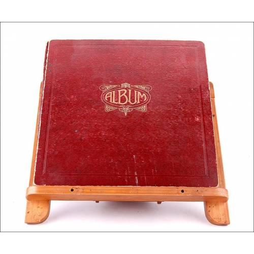 Album con 11 discos de gramófono españoles. 78 rpm. Música clásica - La Walkyria de Wagner