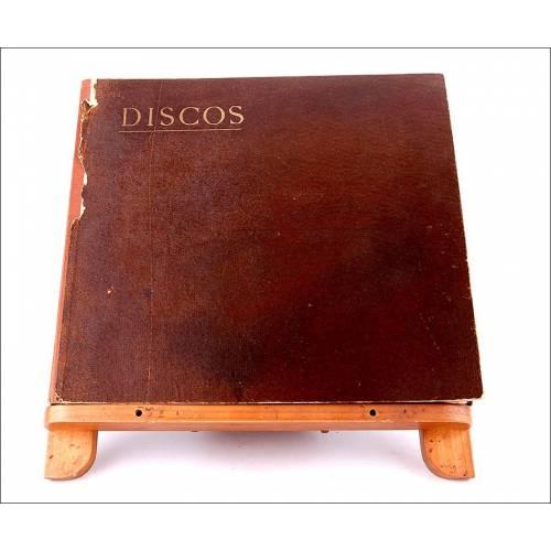 Album con 12 discos de gramófono españoles. 78 rpm. Album original. Wagner