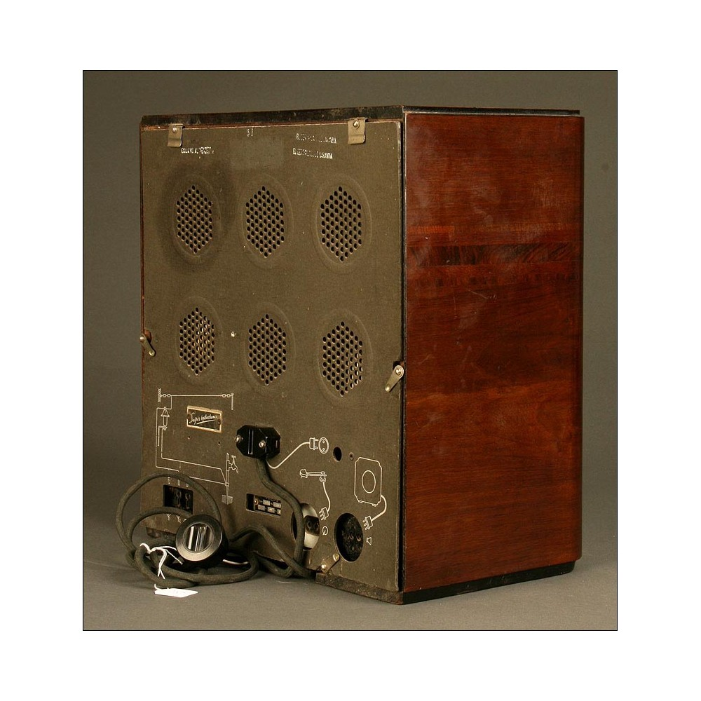 Preciosa radio antigua de v lvulas philips 736a de 1934 funcionando - Fotos radios antiguas ...