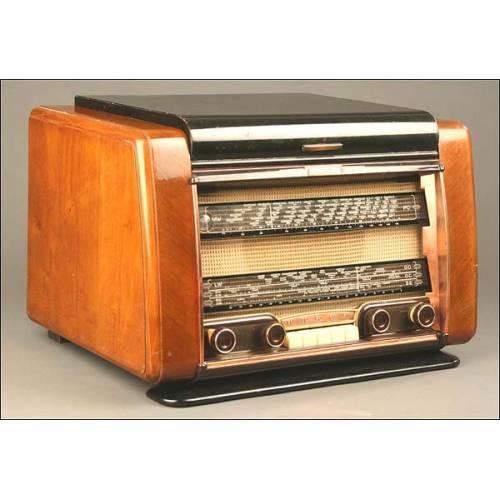 Radio-Tocadiscos a Válvulas Schneider, Mod. Festival, Francia, 1954