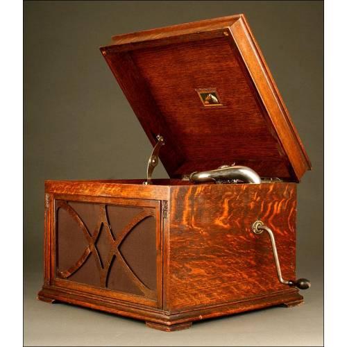 Gramófono Antiguo La Voz de Su Amo, Años 20-30. Modelo 130. Funciona a la perfección.
