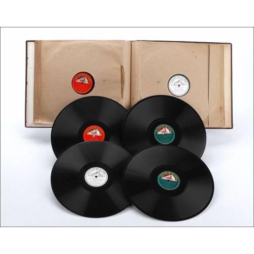 Álbum con 12 Discos de Gramófono. Ópera y Música Clásica. Álbum Original, Bolero de Ravel