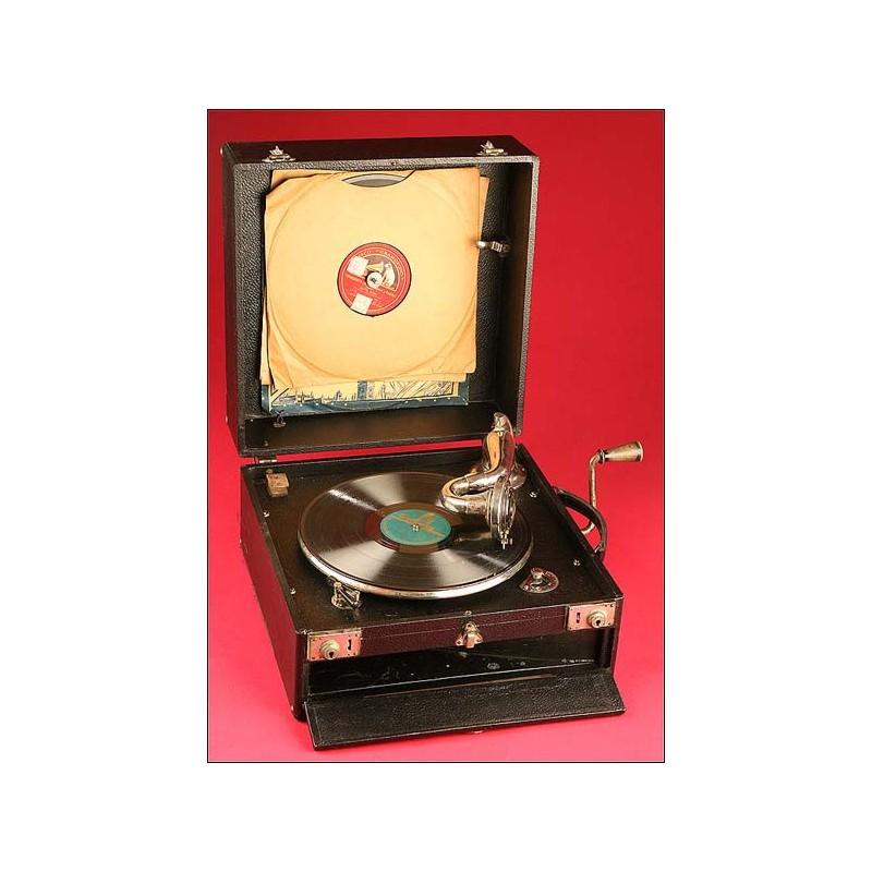 Gramófono antiguo Maxitone, Años 30