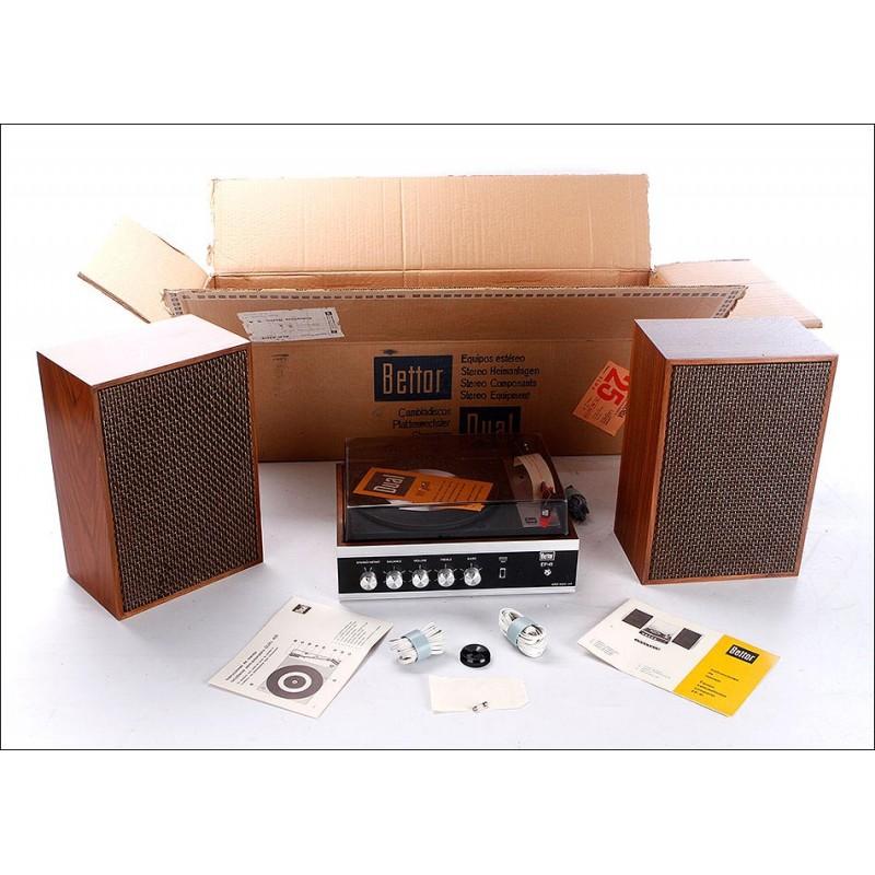 Magnífico Tocadiscos Bettor Dual 420 en Estado Mint. España, Años 70 - Unidad 4 de 4