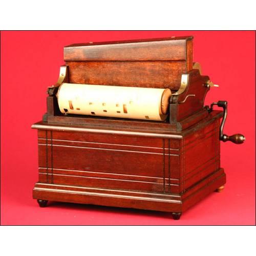 Precioso Órgano Clariona de 14 notas. New York,1880s.