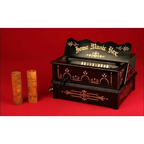 Organillo del Siglo XIX Totalmente Restaurado. Perfecto Funcionamiento Sonido