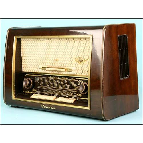 Radio Normande tipo Carmen 56/3D,C.1955.