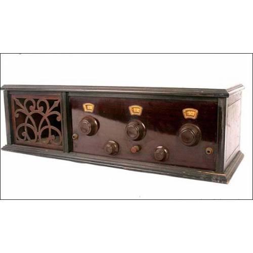 Antigua radio de 5 válvulas Freshman Masterpiece. 1925
