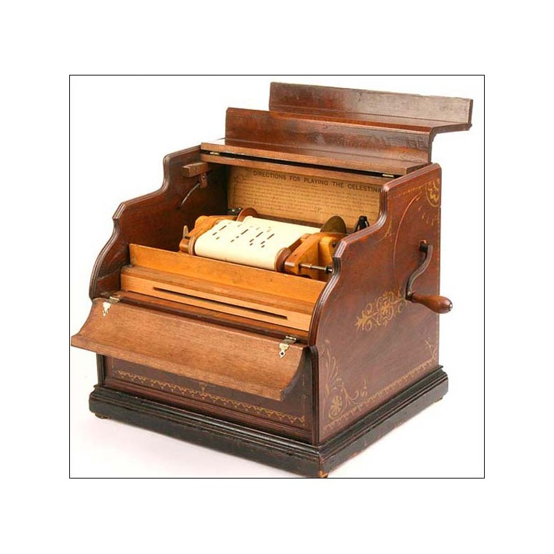 Organillo portátil Celestina. Nueva York. 1880