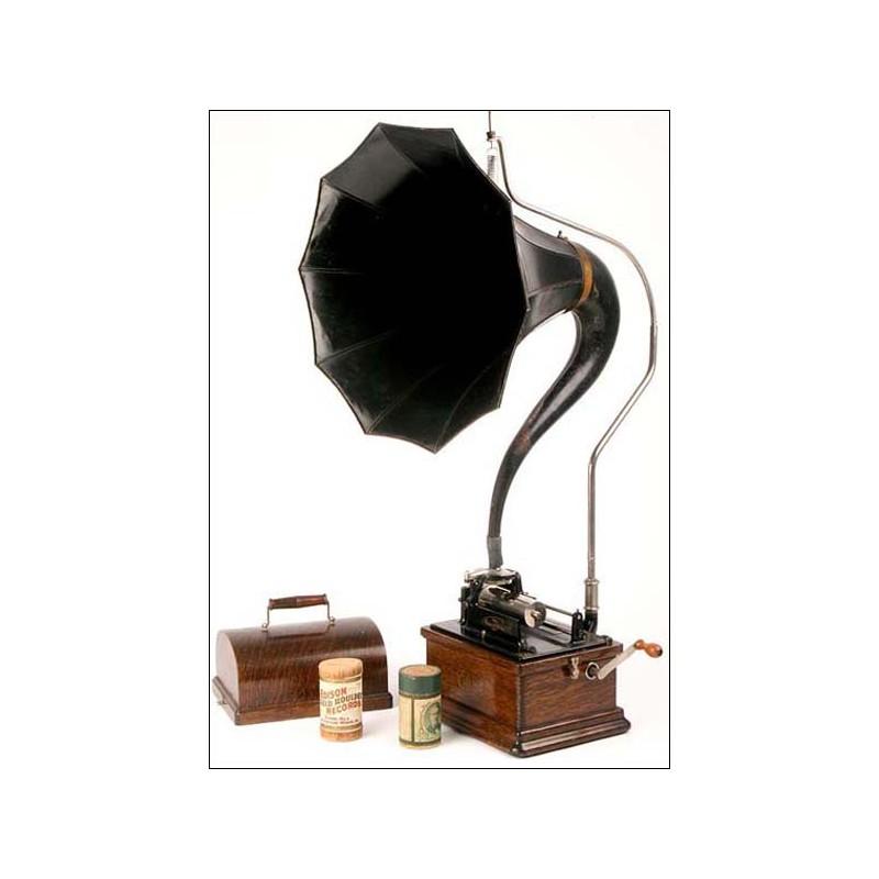 Fonógrafo Edison Fireside modelo A. 1905