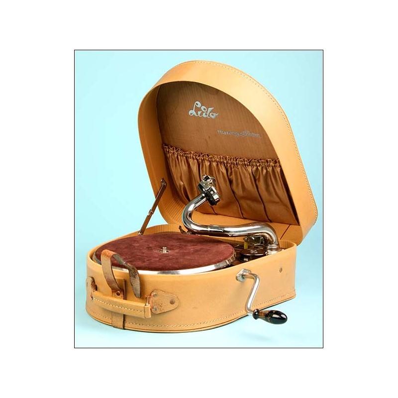 Gramola de maleta Telefunken. 1938