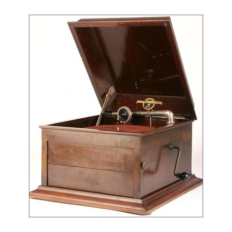 Gramófono de sobremesa Columbia. Mod. 119. 1924