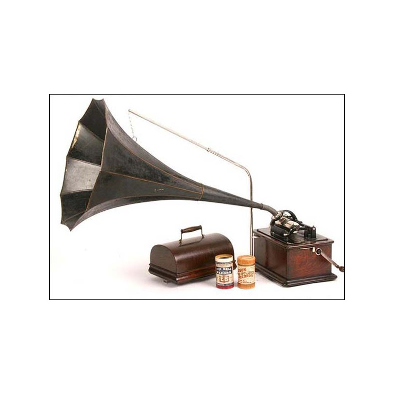 Fonógrafo Edison modelo Standard. 1905