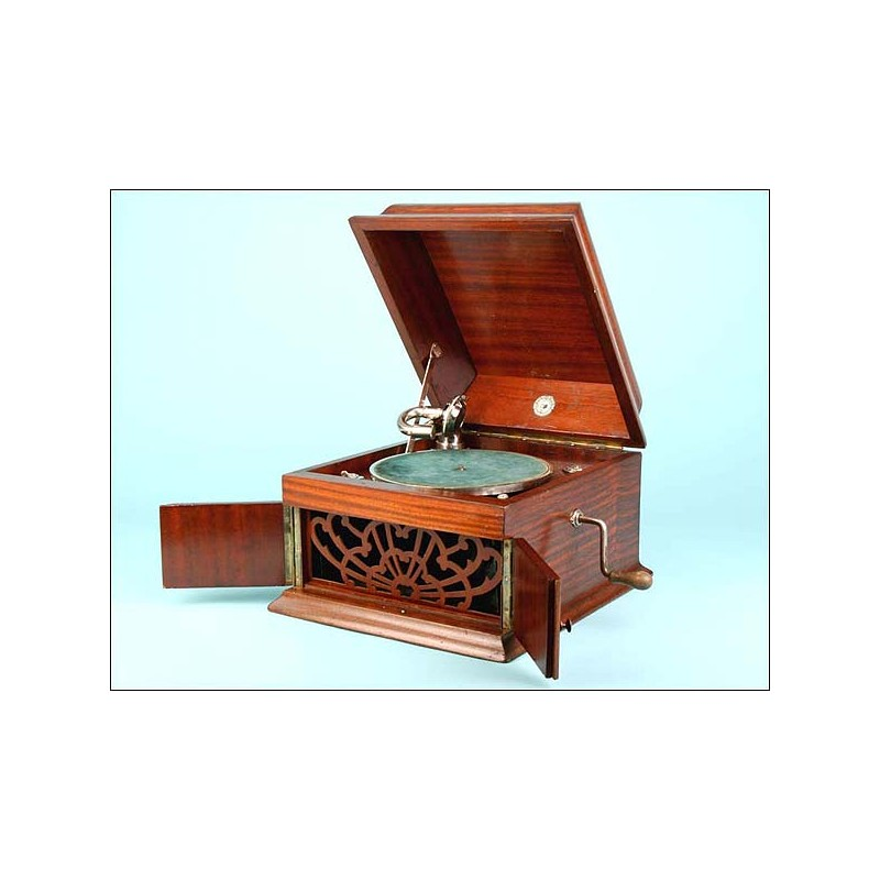 Gramófono de sobremesa Bonophon. 1925