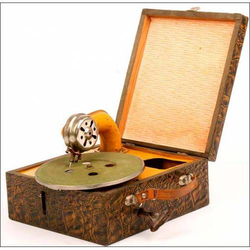 Gramófono de juguete. 1920-30