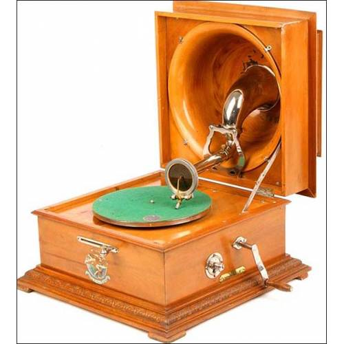Raro Pathephone Reflex nº 17. 1925