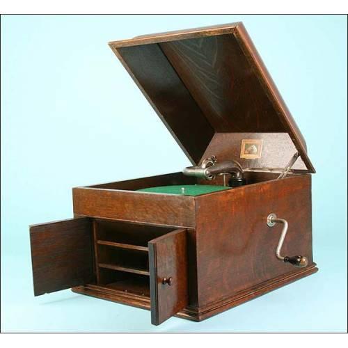 Gramófono La voz de su amo. Modelo 108. 1924