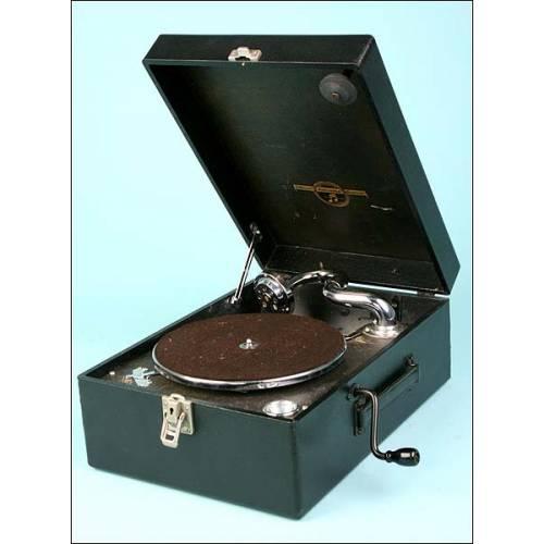 Gramófono Columbia. 1930