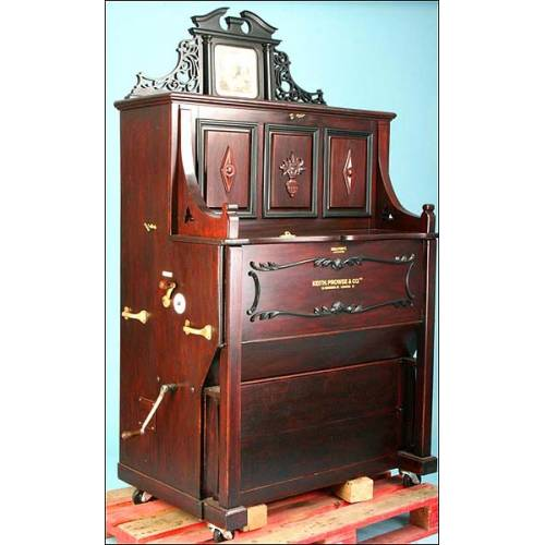 Organillo automático a monedas Dale Forty. 1900