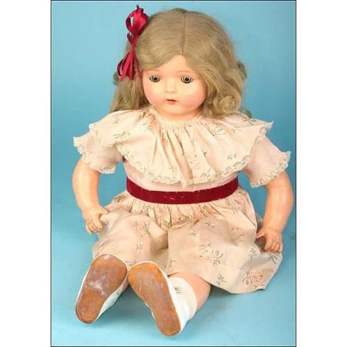 Muñeca parlante Dolly, 1922. Muñeca-fonógrafo