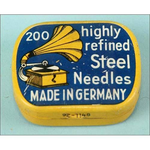 200 agujas en su caja de fabricación alemana.