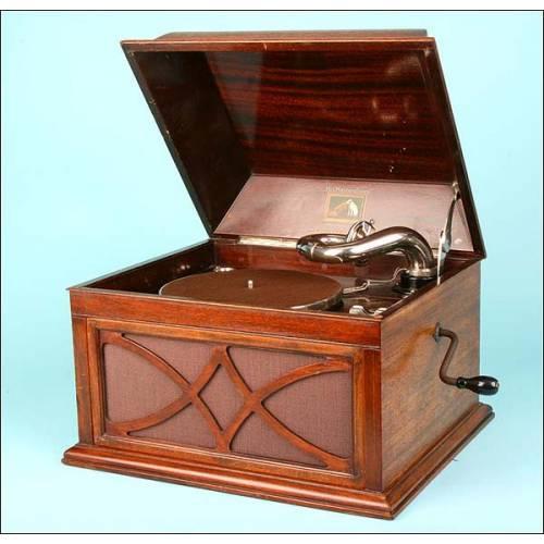 Gramófono La Voz de su Amo. Modelo 104,C.1934.