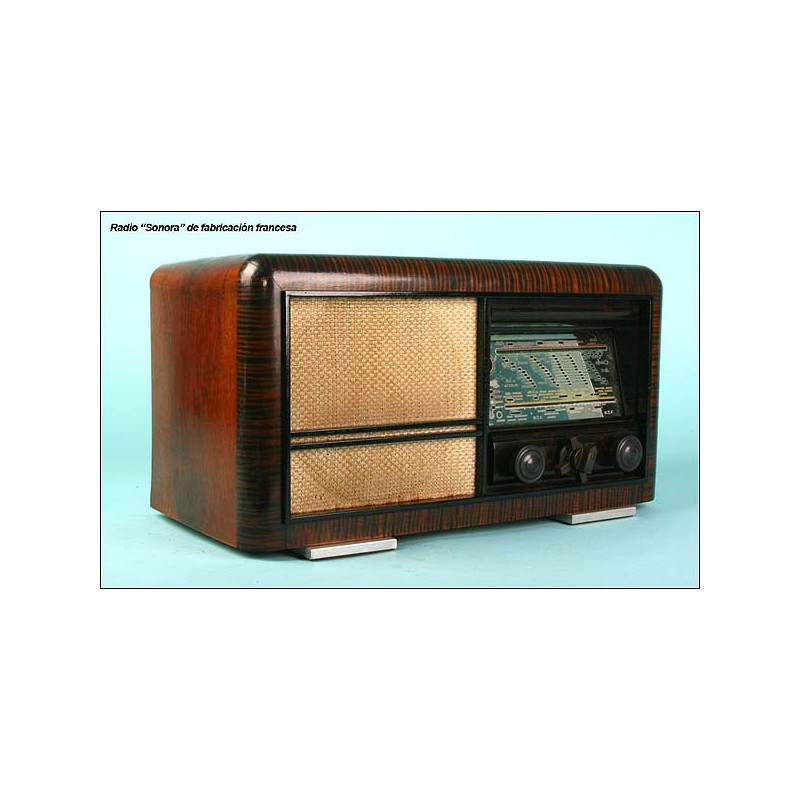 Radio Sonora excellence 4, 65w 110-220v, C.1950.