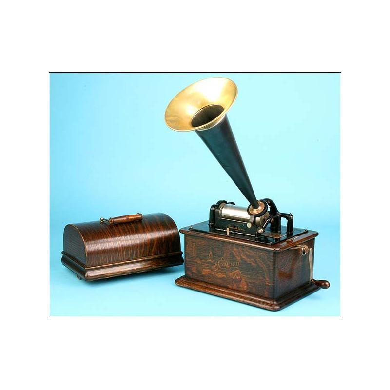 Fonógrafo Edison standard. 1910