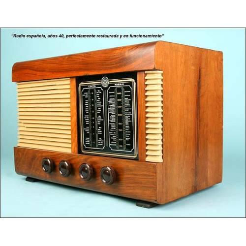 Radio española, Años 40-50.