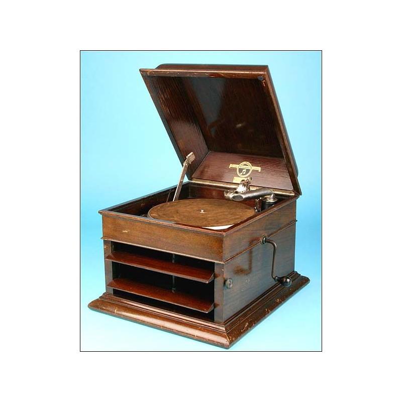 Gramófono de sobremesa Columbia. Mod 102 A. Años 20