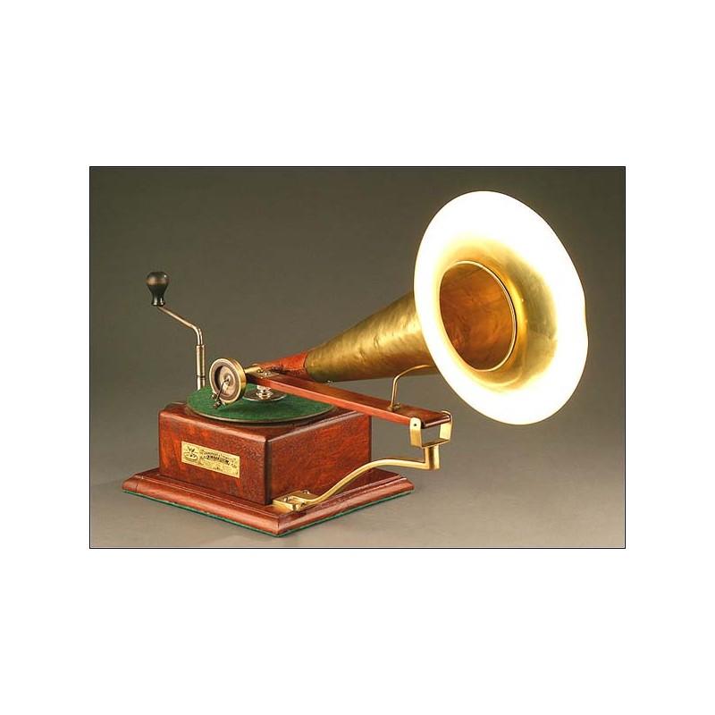 Gramófono Berliner, Muy raro. 1897