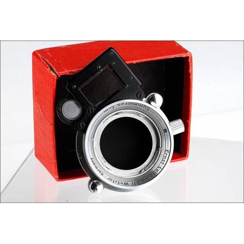 Accesorio Macro Sooky para Cámaras Leica. Original y en Perfecto Estado. Alemania, Años 50 del S. XX