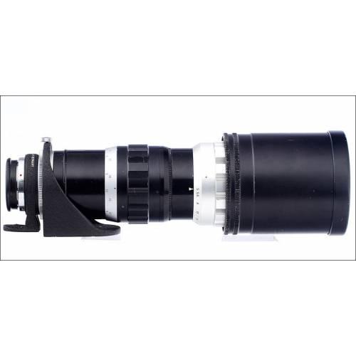 Teleobjetivo Telyt 400 para Cámara Leica M. Funcionando Perfectamente. Fabricado en los Años 50