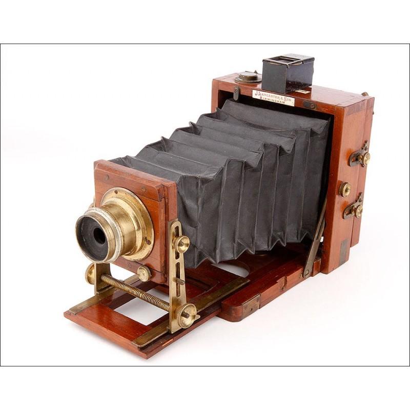 Impresionante Cámara Fotográfica Instatograph Muy Bien Conservada. Inglaterra, 1893