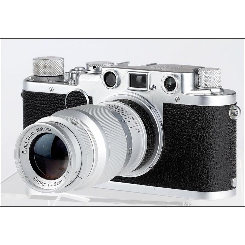 Exclusiva Cámara Leica IIf en Excelente Estado y Funcionando. Fabricada en Alemania, 1951-52