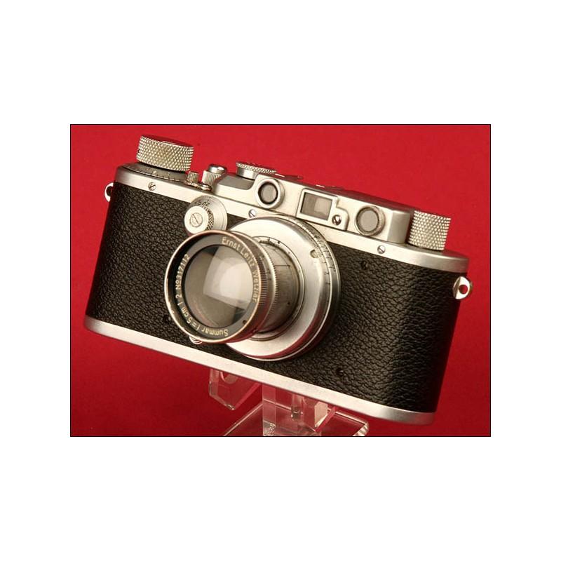 Espléndida Cámara Marca Leica Modelo III a. ca. 1936.