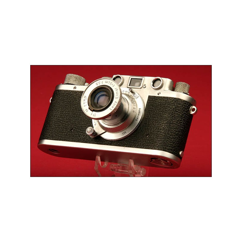 Fantástica Cámara Leica IIC. Ca. 1951