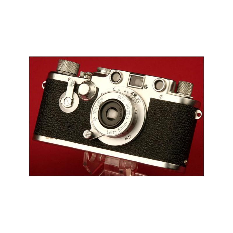 Fantástica Cámara Marca Leica Modelo IIIC convertida en IIIF. Ca.1950.