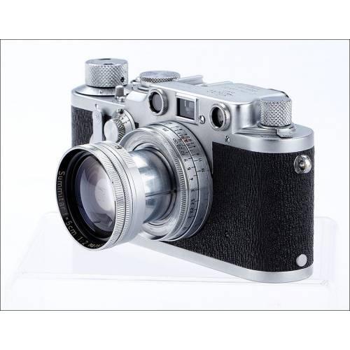 Fantástica Cámara Leica IIIc Muy Bien Conservada. Alemania, 1950