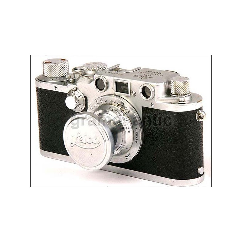 Excelente Leitz Wetzlar Leica III f. Período de guerra. 1941